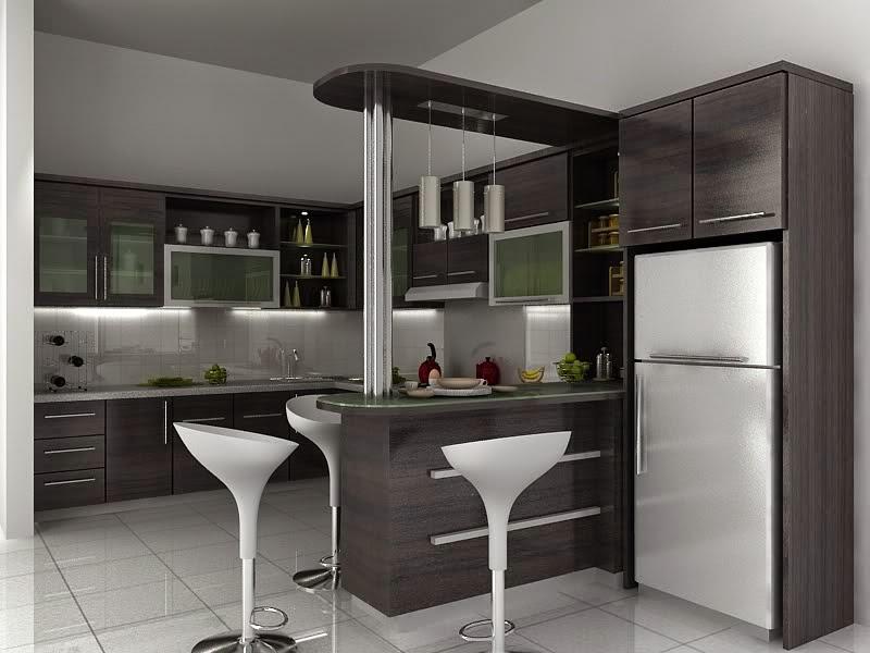 Design Interior Palembang Kitchen Set Mini Bar Catalog Design