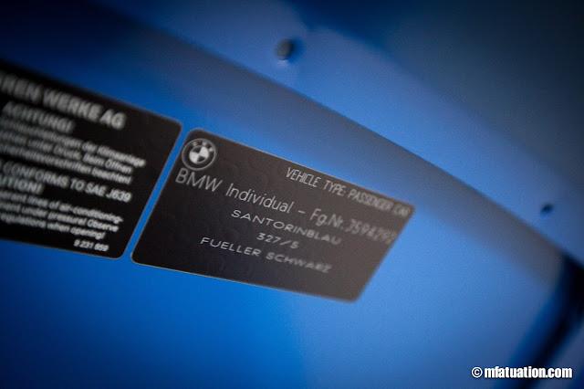 Bmw santorini blue paint code for Santorini blue paint