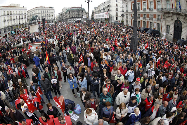 May Day 2013 in Spain
