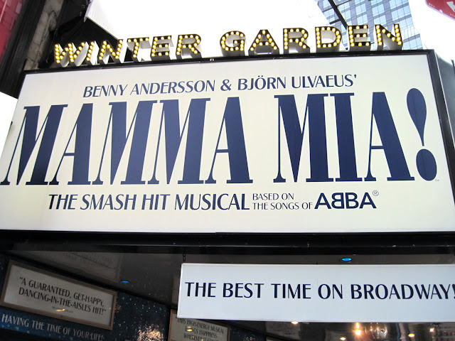 Mamma Mia draws Mama fans from all over the world to see this New in New York show.