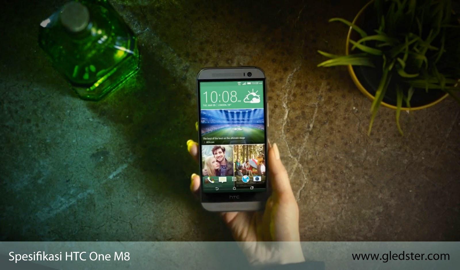 Spesifikasi HTC One M8