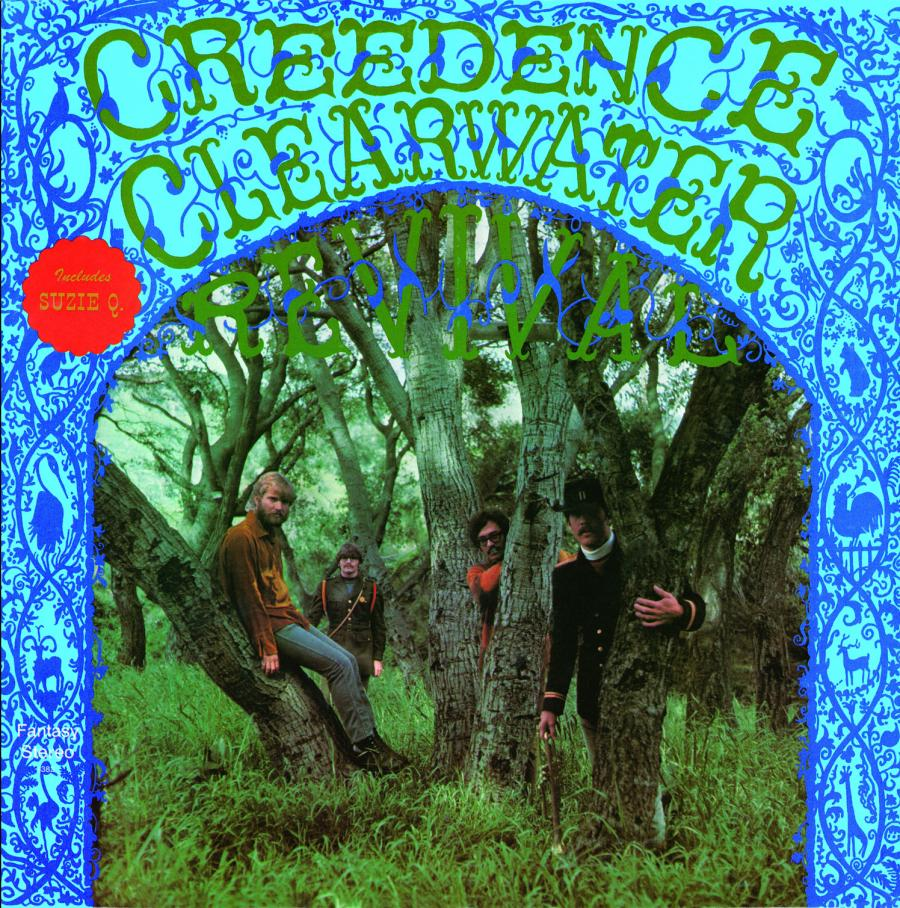 Creedence Clearwater Revival Lookin Out My Back Door Long As I Can See The Light