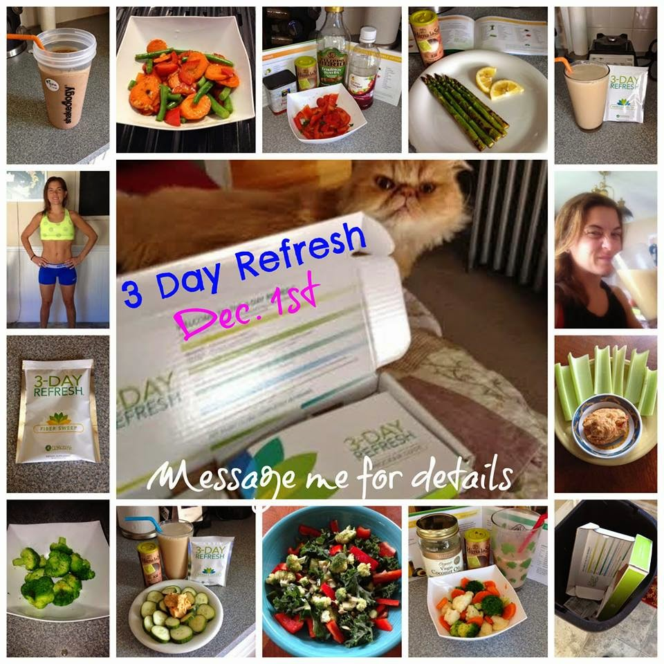 3 day refresh, meals, cleanse, Jaime Messina,