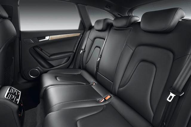 2013 Audi A4 Allroad Quattro Back Interior