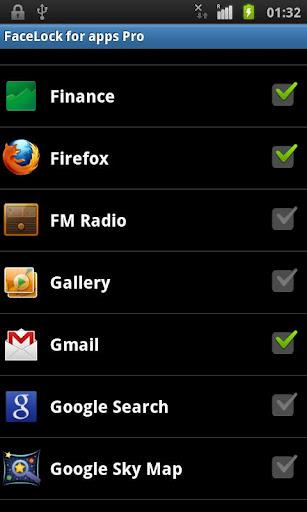 FaceLock for apps Pro apk