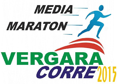 Media maratón Vergara Corre (21k, 10k, 5k; Rincón a Vergara, Treinta y tres; 11/oct/2015)