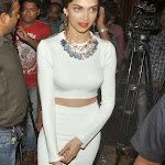 Deepika Padukone   Looking Hot In White Tight Dress 2014