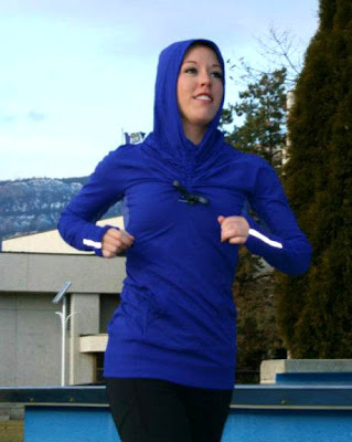lululemon stay on course pullover in pigment blue