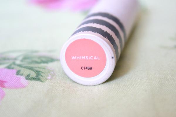 topshop matte moisturising lipstick, lipstick whimsical, lipstick review, blog, lipstick coral, lipstick pink, lipstick swatch