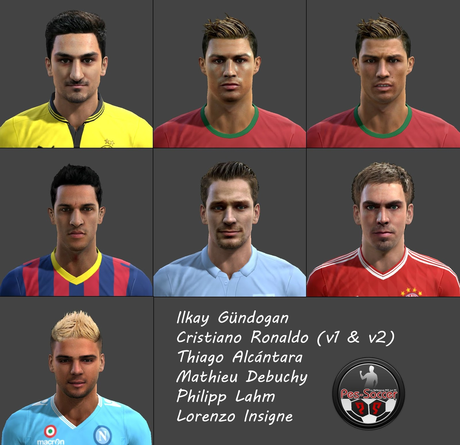 Download Facepack PES 2013 by Tunizizou