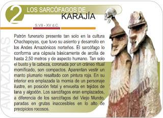 cromo de sarccofagos de karajia