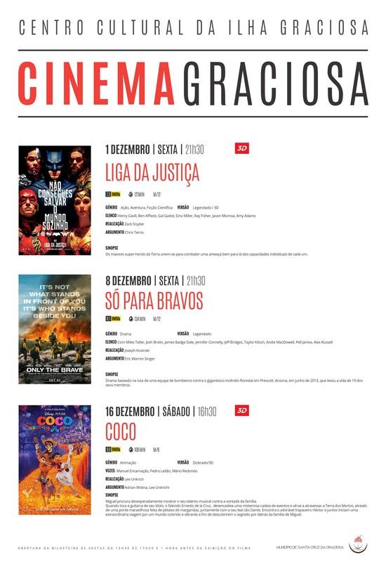 Cartaz de Cinema para Dezembro