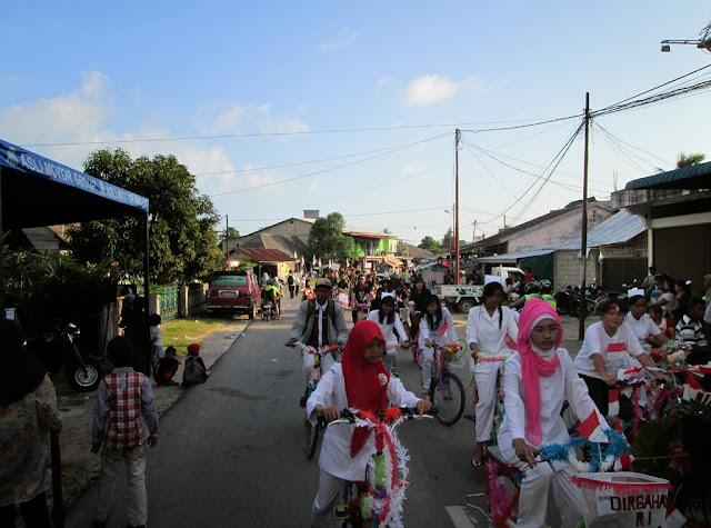 pawai, 17 agustus, Dabo Singkep