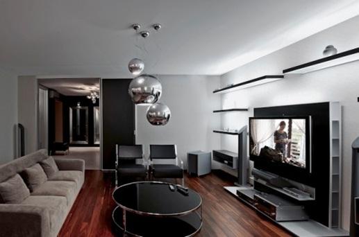 Decora y disena dise o de lujoso departamento de 500 m2 for Departamentos pequenos lujosos