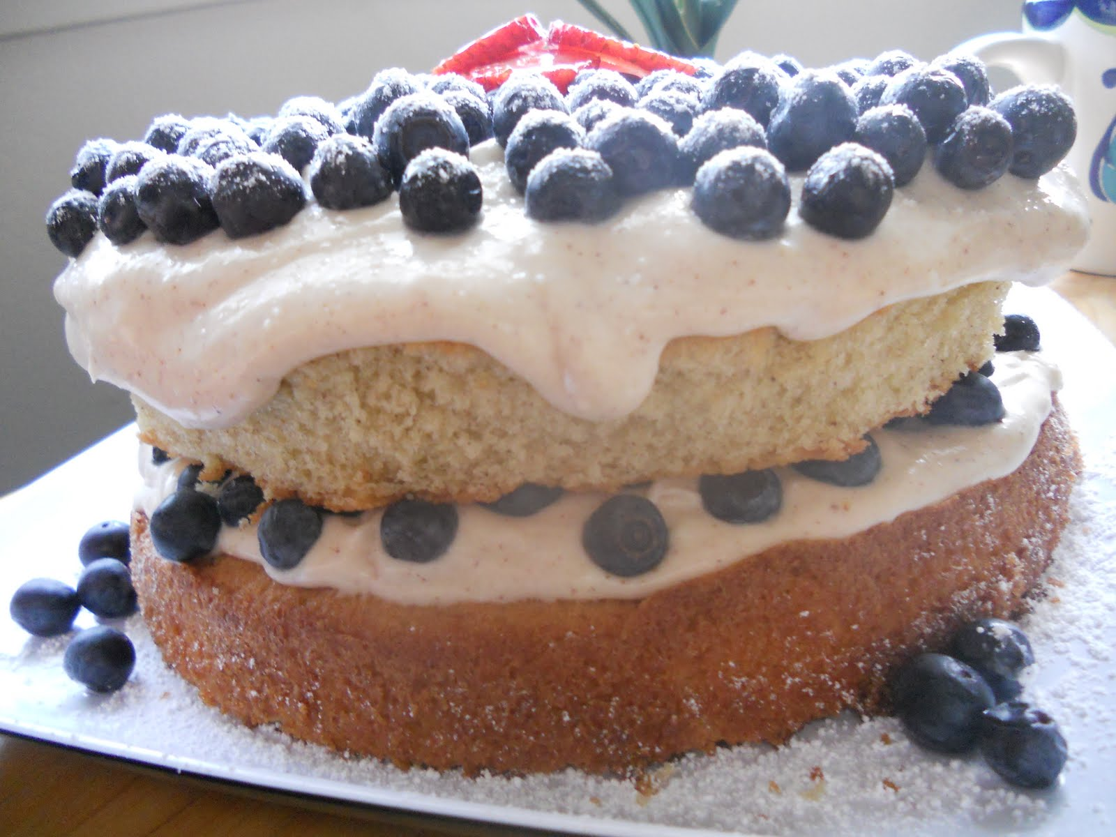 A Warm Welcome & A Blueberry Cinnamon Vanilla Cake! | My ...