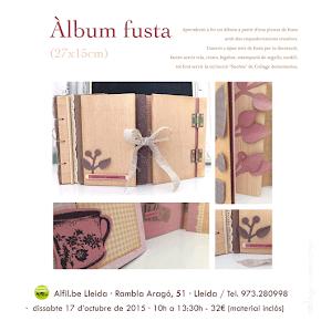 Taller álbum fusta - Lleida