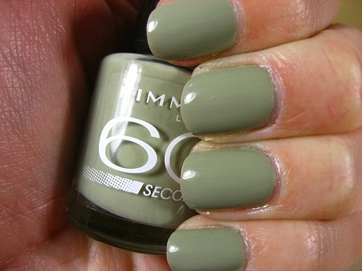 Right on the Nail: Rimmel 60 Seconds Nail Polish: Sage All the Rage