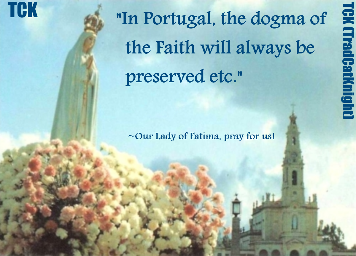 The Dogma of Faith Preserved in Portugal