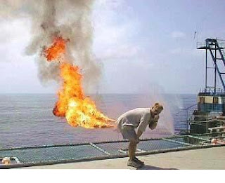 gambar gambar lucu kentut api