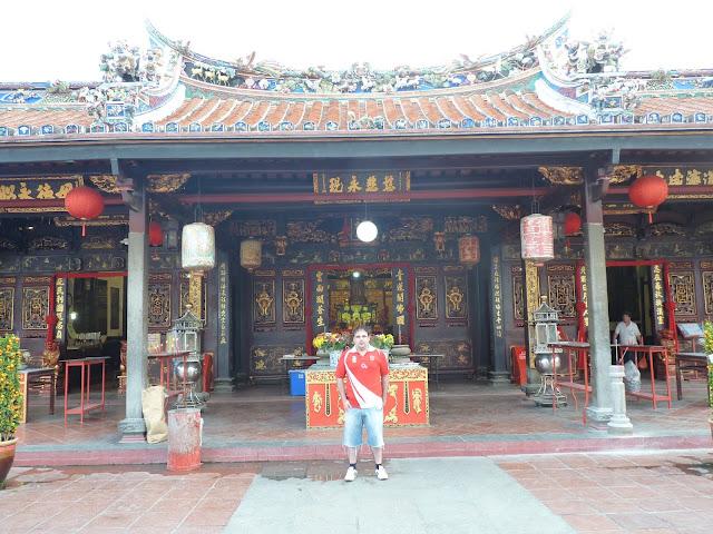 templo chino y budista de Malaca