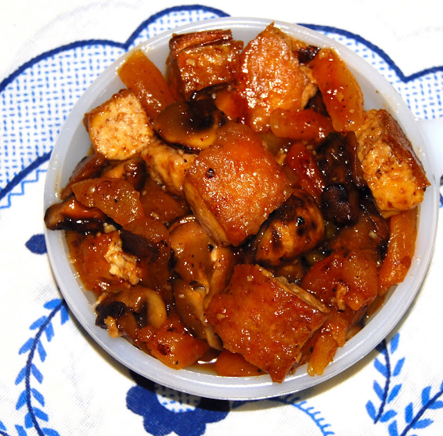 chewy tofu