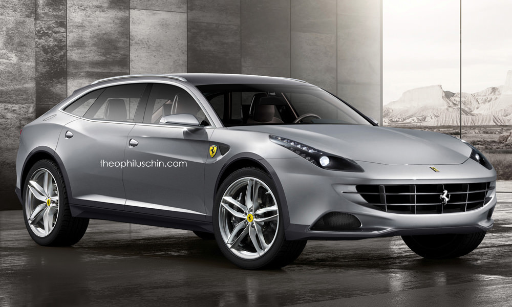 Autos Von Morgen Kommt Das Ferrari Suv Myauto24 Das