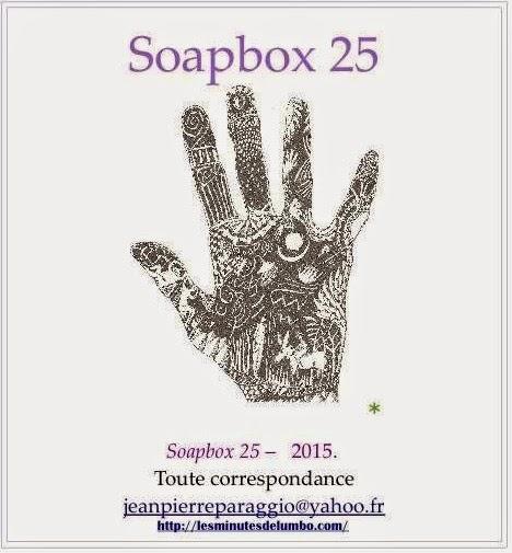 Pierre PEUCHMAURD, NATTES, SOAPBOX N°25, FEUILLET de l'UMBO, 2015, ART & POÉSIE
