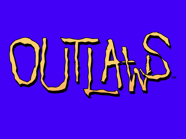 Outlaws PC Title Screen