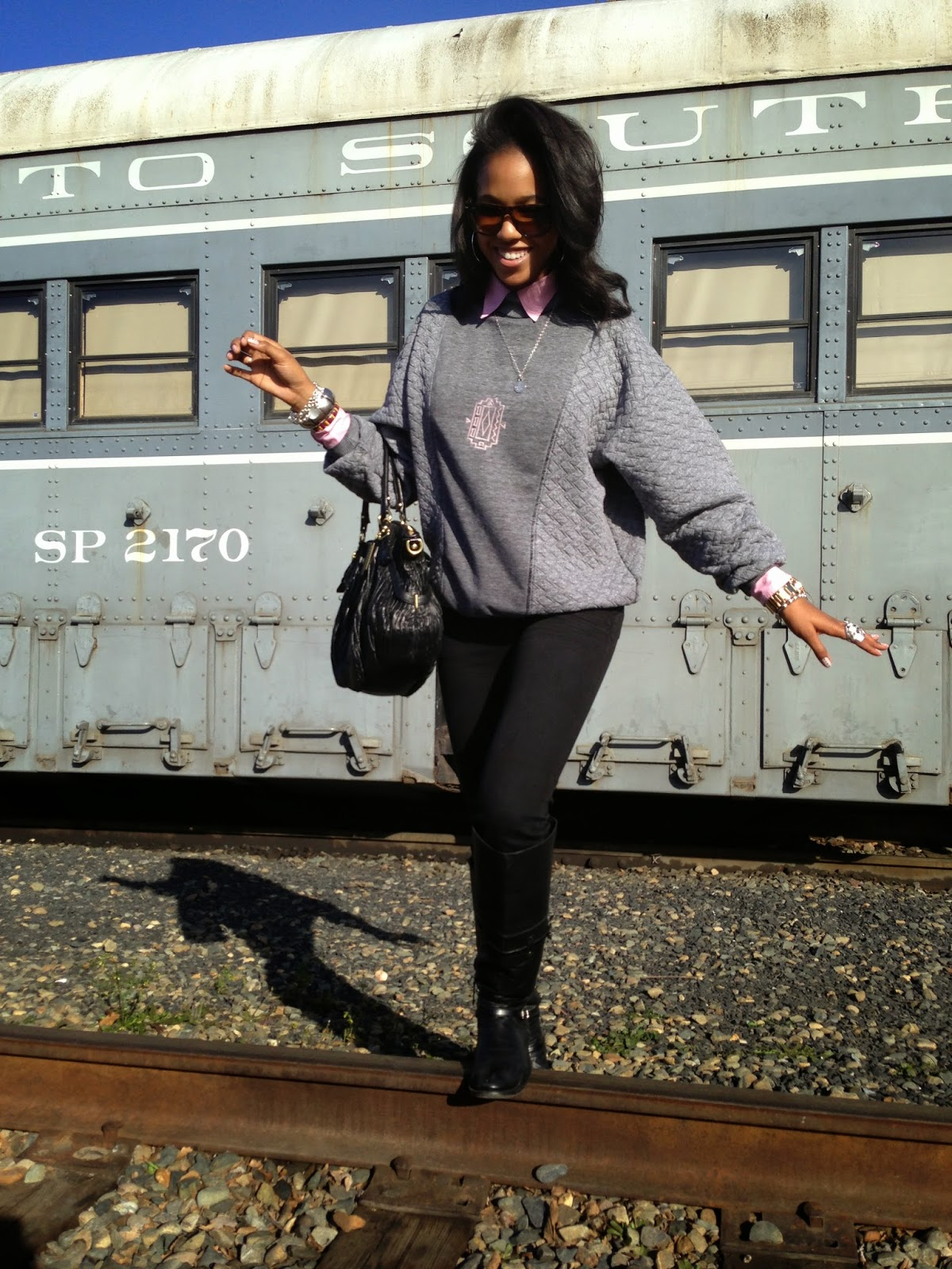 Marquise C Brown fashion style blogger Honey In My Heels