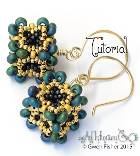 Beaded Bead Earring Pattern