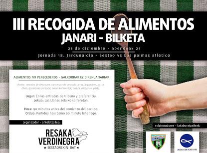 III RECOGIDA DE ALIMENTOS