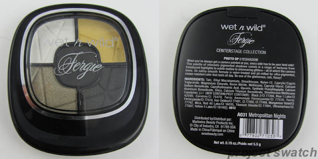 Wet n Wild / Fergie Centerstage Collection Metropolitan Nights Photo Op Eyeshadow
