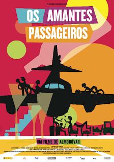 """Poster do filme """"Os Amantes Passageiros"""""""