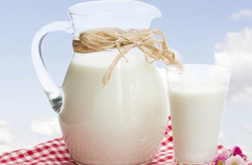 jarra de leite