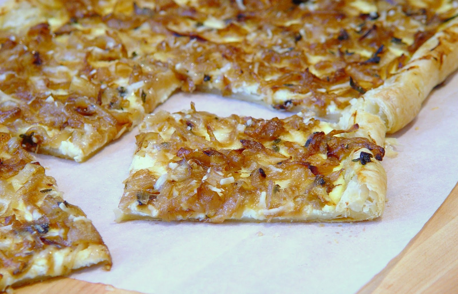 Everything Tasty from My Kitchen: Caramelized French Onion Tart