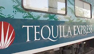 Bahnfahrt mit dem Tequila-Express