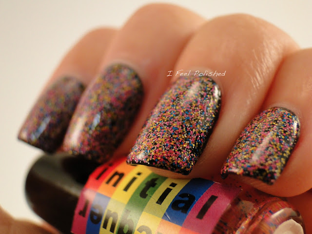 Initial Lacquer Rainbow Sands