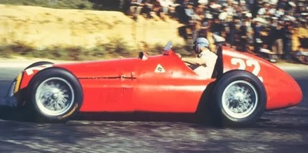 Formula 1  1951 Juan Manuel Fangio/ Alpha Romeo