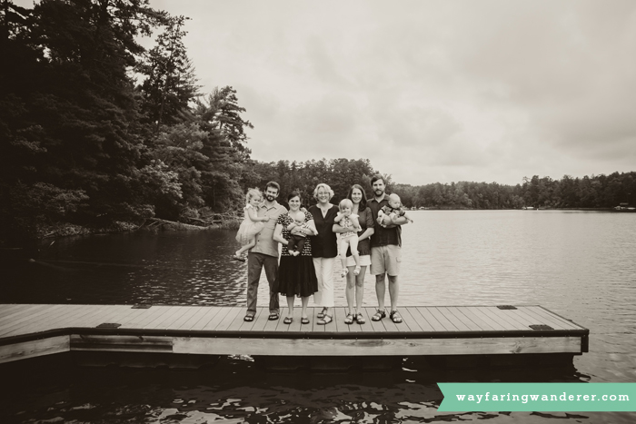 Hersey Family Adventure on Lake James, NC | Family Portrait on Dock | Boone North Carolina Family Photographer
