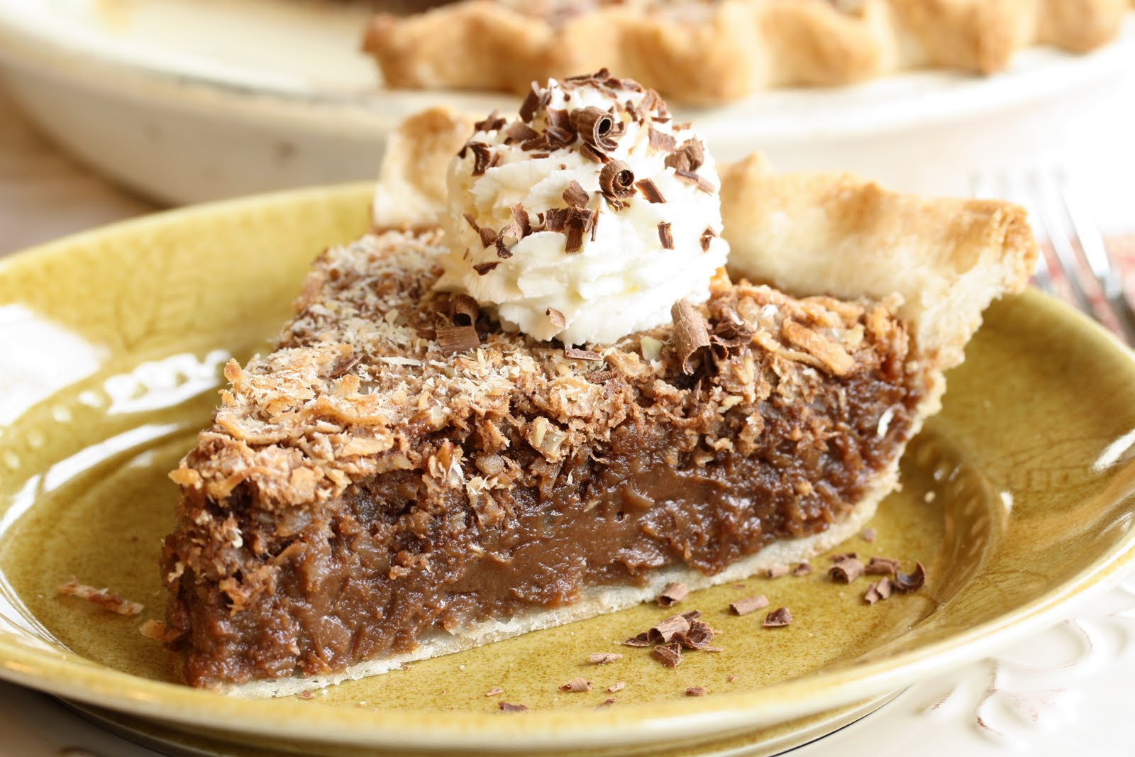 No. 32 - German Chocolate Pie - Saving Room for Dessert