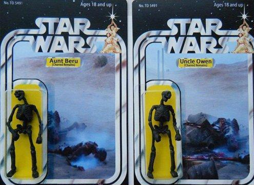 The Best Star Wars Action Figures - Aunt Beru - Uncle Owen