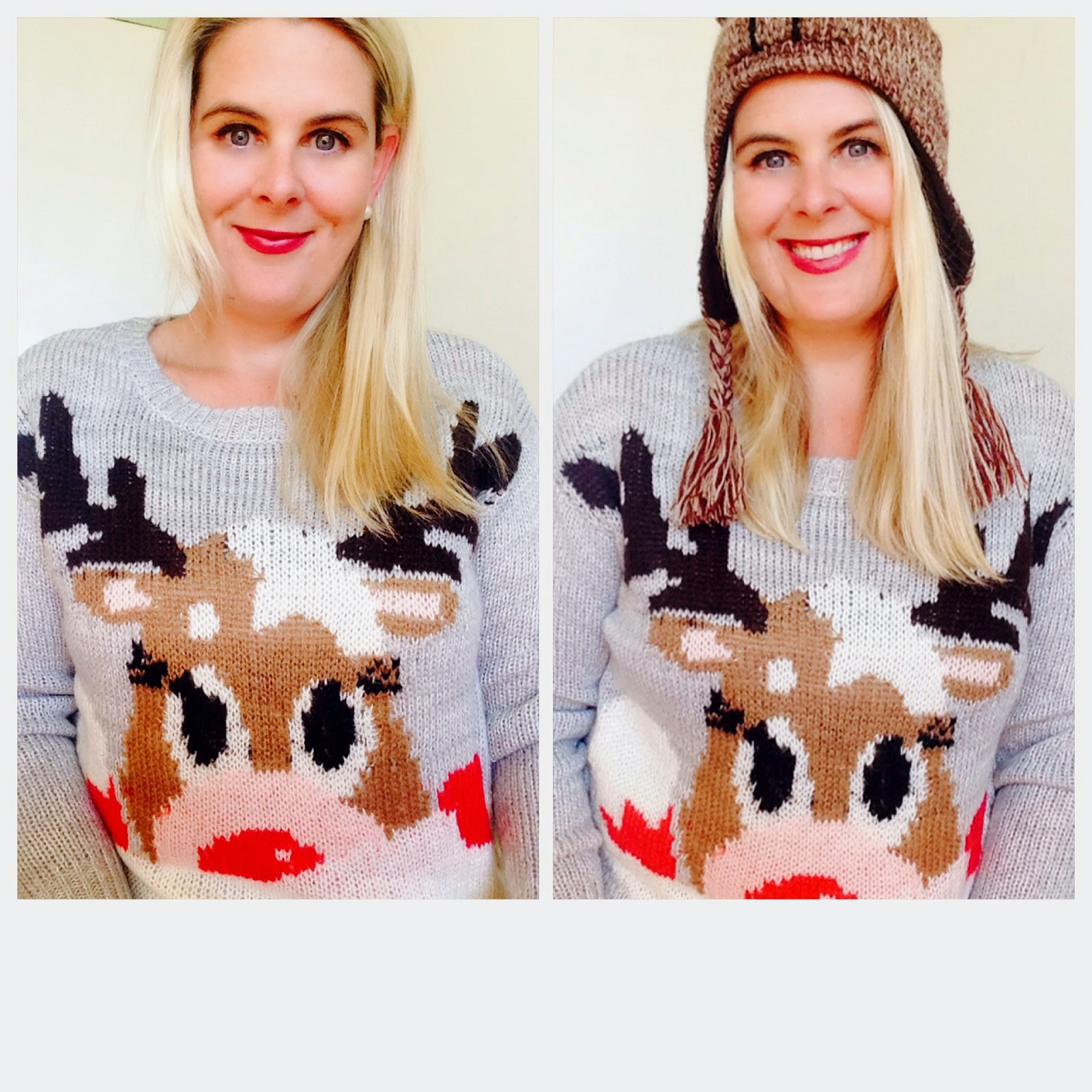 YummoMummo: The Xmas sweater - now stylish! x