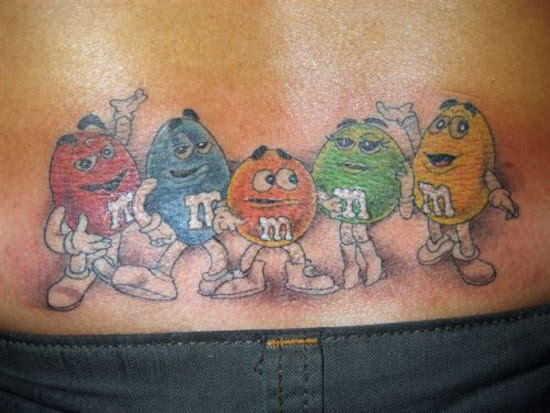 These Tramp Stamp Tattoos