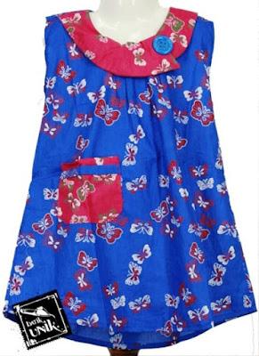 Model Baju Batik Anak Perempuan 9