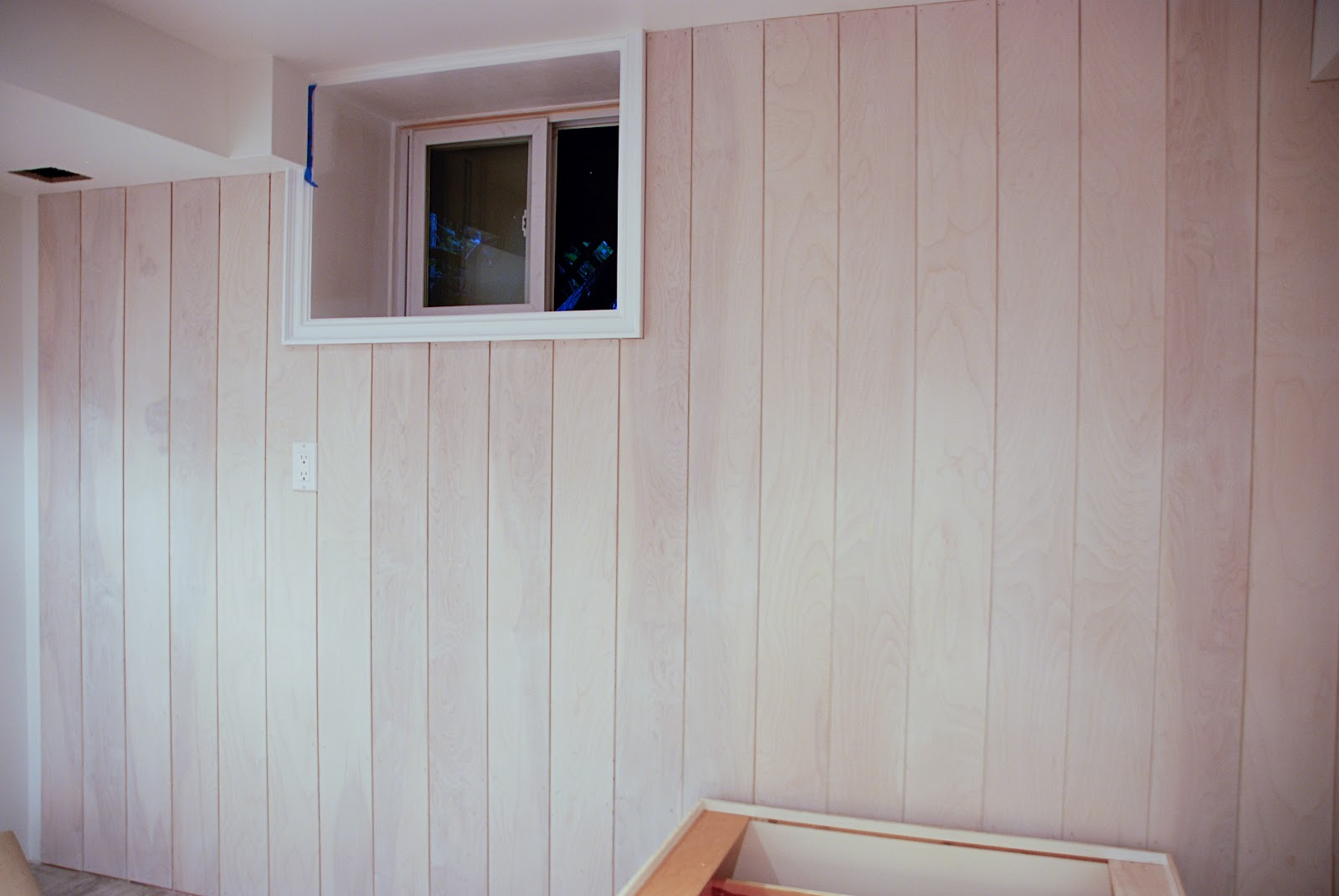 Plywood Plank Ceiling Part Ii Diy Whitewashed Plank Walls Rambling Renovators