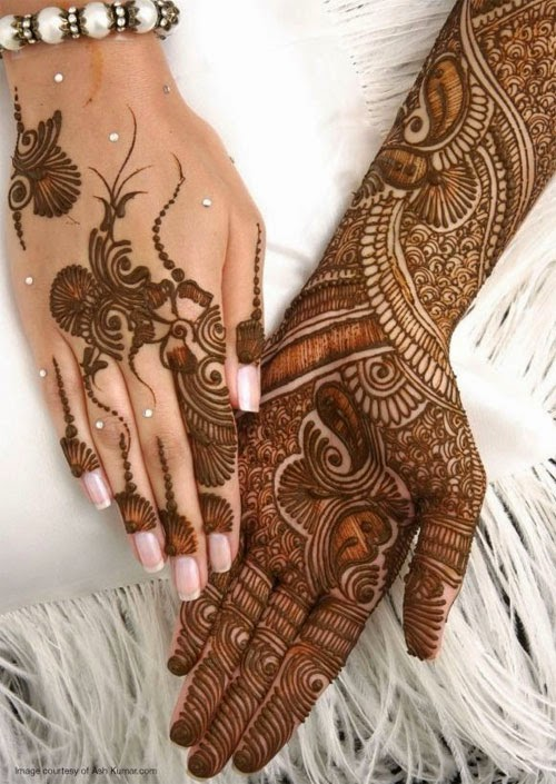 Simple Mehndi Designs For Full Hands 2014  B Amp G Fashion