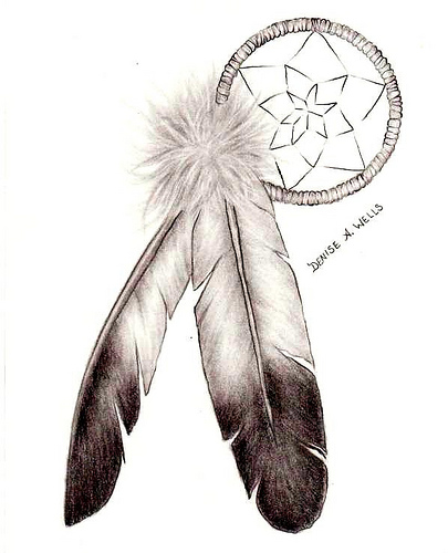 dreamcatcher tattoo on side dreamcatcher tattoos for girls
