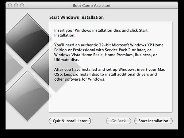 كيفية تثبيت وتشغيل أنظمة ويندوز علي أجهزة ماك آبل Boot Camp