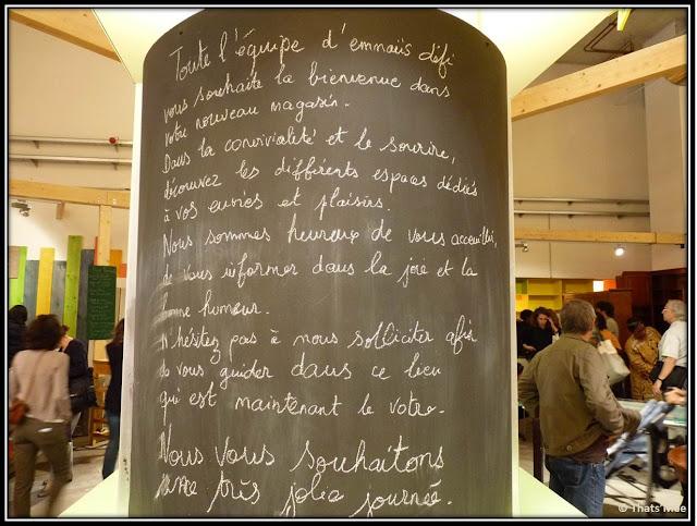 Emmaüs Défi bric-a-brac Marché Riquet Paris 19eme