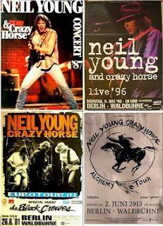 Neil Young Tourposter Berlin